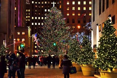 NYC Rockefeller Center Christmas Tree