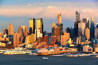 NYC West Side Sundown