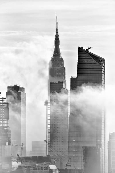 NYC Morning Fog