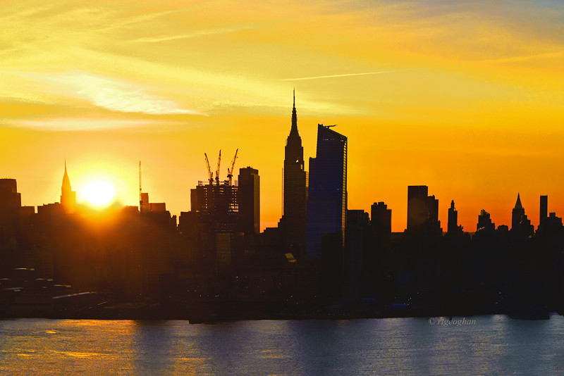 NYC Skyline Sunrise