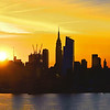 NYC Skyline Sunrise