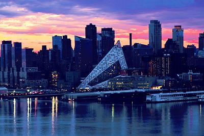 NYC West Side Blue Dawn