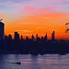 NYC Sunrise Fire and Ice