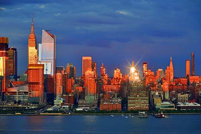 NYC Sundown Sparkle