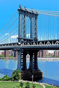 Manhattan Bride and Brooklyn Bridge Park