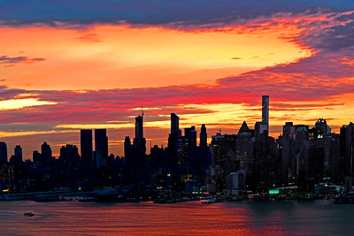 NY Cityscape at Dawn