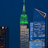 NYC Empire State St. Patrick's Green
