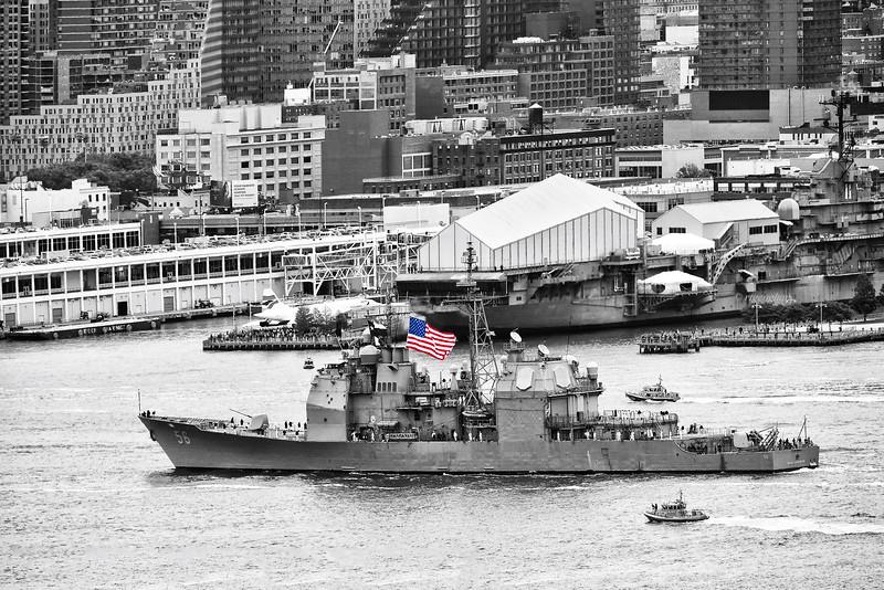 NYC Fleet Week-USS John S McCain