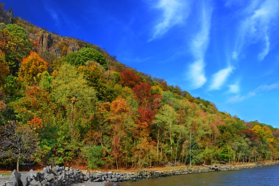 Hudson River Autumn Beauty NJ