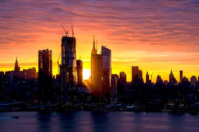 NYC Sunrise November 1