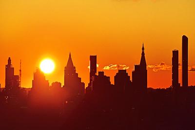 NYC Sunday Sunrise
