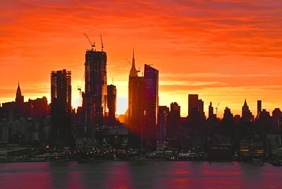 NYC Nov Sunrise