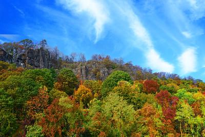 Peak of Autumn NJ Palisades