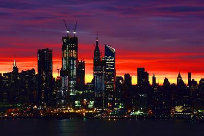 Manhattan at Dawn