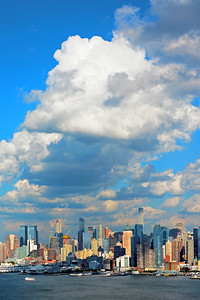 Manhattan Cloudscape