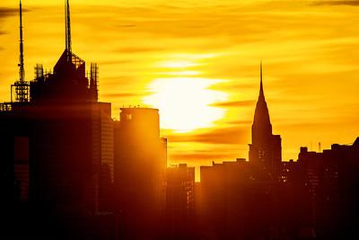 NYC-Chrysler Building Sunrise