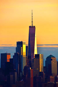One World Trade Last Glow of Day