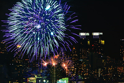 Lunar New Year NYC Fireworks #3