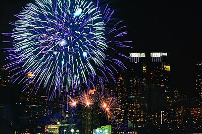 Lunar New Year NYC Fireworks #3