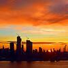 NYC Copper Sunrise