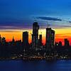 NYC Sunrise Blue Hour