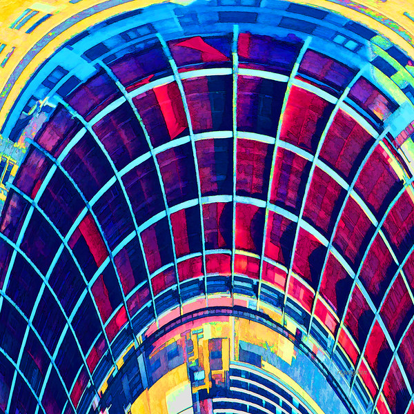 Abstract Architecture Squared #4