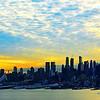 NYC Morning Glow