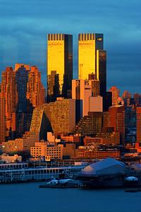 Layers of Sundown Color NYC