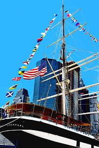 Wavertee Cargo Ship NYC