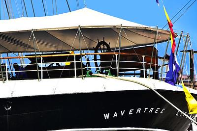 South Street Seaport Wavertree Ship Wheelhouse