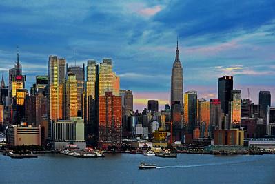 Sundown Light on NYC