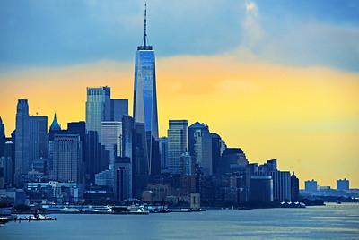 Lower Manhattan Sundown Blues