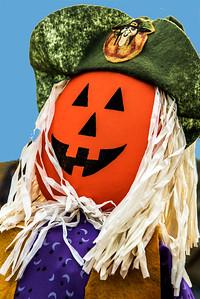Halloween Pumpkin Pirate Doll