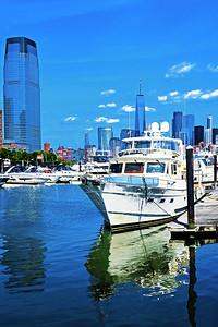 Hudson River Marina Blues