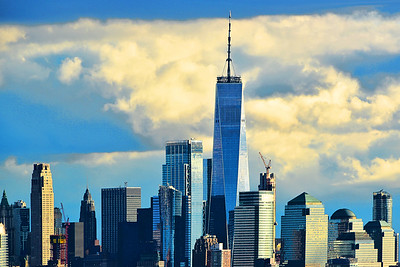Freedom Tower and Sky