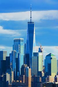 Freedom Tower Sundown Pastels