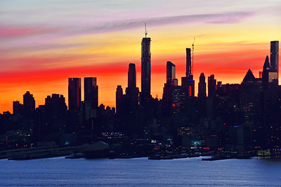 Sun Coming Up NYC