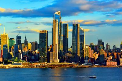 NYC in Sundown Light
