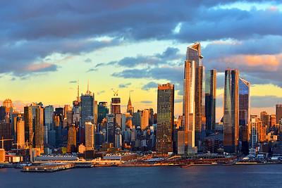 Golden NYC at Sundown