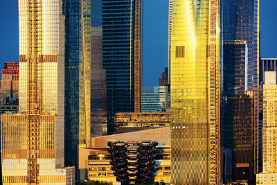 NYC Hudson Yards Towers and the Vessel