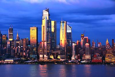 NYC Goldglow at Twilight