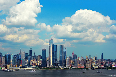 New York Cityscape - Sky and Clouds