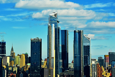 NYC Hudson Yards Afternoon Blues