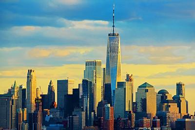Sundown Light NYC Financial District