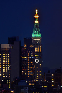 NYC Building Night Lights
