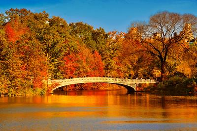 Bow Bridge Autumn Extravaganza