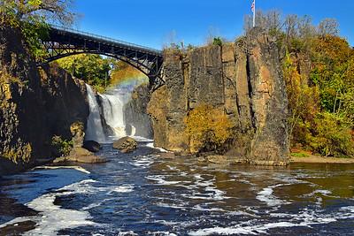 Great FAlls Nationa Park Autumn Landscape