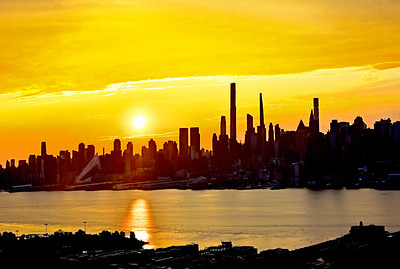 A Golden New Day NYC