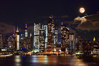 NYC Henri Moonrise