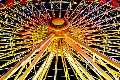 Ferris Wheel Light Show 2-Ocean City NJ